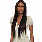 The Wig Black Pink 100% Brazilian Virgin Remy Hair HD Lace Front Wig - HD HBL.ST 28-30