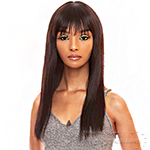 The Wig Black Pink 100% Brazilian Virgin Remy Human Hair Wig - HHBW CLEO 18