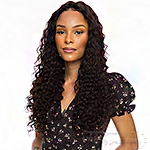 The Wig Black Pink 100% Brazilian Virgin Remy Hair HD Lace Front Wig - HD HBL.SUPER DEEP 28