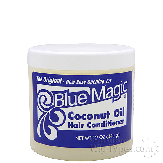 Blue Magic Coconut Oil Hair Conditioner On Natural Hair