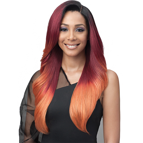 Bobbi Boss Human Hair Blend 13X7 Glueless Frontal Lace Wig - MBLF001 ALIVIA