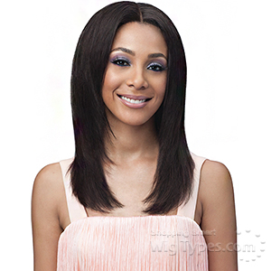 Bobbi Boss 100% Virgin Remy Human Hair Whole Lace Wig - BNGLWST20 STRAIGHT 20