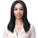 Bobbi Boss 100% Unprocessed Human Hair 13X5 HD Lace Frontal Wig - MHLF611 NOLA