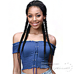 Bobbi Boss Synthetic Hair Braid Lace Front Wig - MLF513 ALICIA