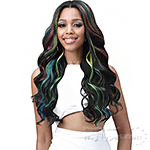 Bobbi Boss Human Hair Blend 13X7 Glueless Frontal Lace Wig - MBLF004 LONDON