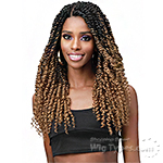 Bobbi Boss Synthetic Hair 4x4 Braid Lace Wig - MLF518 SPRING TWIST 20