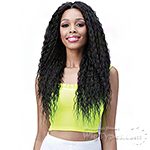 Bobbi Boss Human Hair Blend 13X6 Frontal Lace Wig - MOGLWBR26 BRAZILIAN WAVE 26