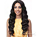 Bobbi Boss 100% Virgin Remy Human Hair Whole Lace Wig - BNGLWOC28 OCEAN WAVE 28