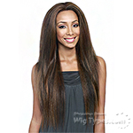 Bobbi Boss Human Hair Blend Swiss Lace Front Wig - MBLF80 MINA