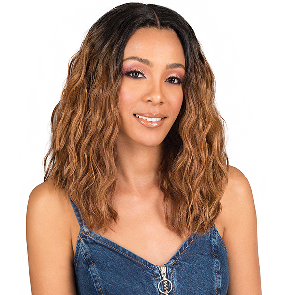 Bobbi Boss Synthetic Swiss Lace Front Wig - MLF208 RINA  (4.5 inch deep part)
