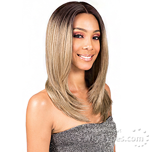 Bobbi Boss Synthetic Swiss Lace Front Wig - MLF203 SHIKIA (4 inch deep part)