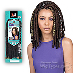 Bobbi Boss Synthetic Braid - BAE LOCS 12 SILVER