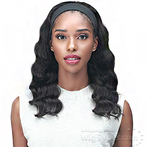 Bobbi Boss 100% Human Hair Headband Wig - MH1403 YANKA