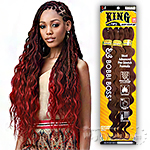 Bobbi Boss Synthetic Pre Feathered Braid - 3X KING TIPS BODY WAVE 28