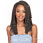 Bobbi Boss Synthetic Braid - BOMBA SENEGAL TWIST BLUNT TIPS 10