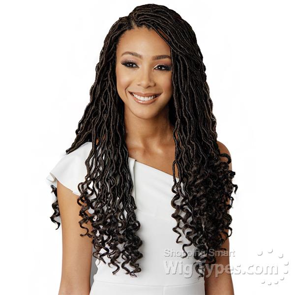 Bobbi Boss Synthetic Hair Briad - GODDESS LOCS 14 - WigTypes.com