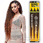 Bobbi Boss Synthetic Pre Feathered Braid - 3X KING TIPS WET & WAVY 28