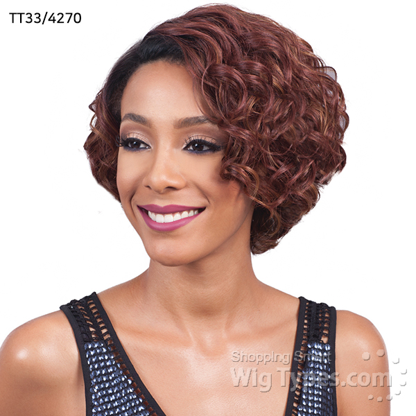 Bobbi Boss Synthetic Hair Swiss Lace 4 Inch Deep Part Wig M971