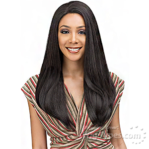 Bobbi Boss 100% Human Hair Blend Designer Mix Full Hand-Tied Lace Front Wig - MBDLF004 SOLANA