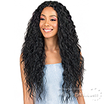 Bobbi Boss Human Hair Blend 4 inch Deep Part Swiss Lace Front Wig - MBLF120 KIANA