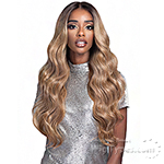 Bobbi Boss Human Hair Blend 13X4 Swiss Lace Front Wig - MBLF190 CARMELA
