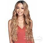 Bobbi Boss Human Hair Blend 5 inch Deep Part Swiss Lace Front Wig - MBLF210 MORA