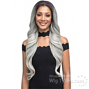 Bobbi Boss Human Hair Blend 360 Swiss Lace Wig - MBLF360 DINAH