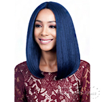 Bobbi Boss Human Hair Blend Swiss Lace Front Wig - MBLF90 JUBA (4inch Deep Part)