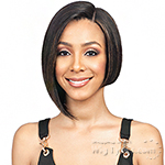 Bobbi Boss 100% Human Hair Sleek Bob Lace Front Wig - MHLF402 HH NADINE SHORT (5 inch deep part)
