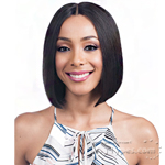 Bobbi Boss 100% Human Hair Swiss Lace Front Wig - MHLF800 EMA (5 inch deep part)
