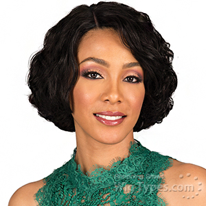 Bobbi Boss 100% Human Hair Lace Part Wig - MHLP0001 EZRA (4 inch side part)