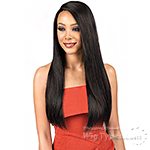 Bobbi Boss Indiremi 100% Virgin Remy Human Hair Lace Wig - MHRLF009 NATURAL STRAIGHT 26 (4x4 Deep Lace Style)