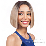 Bobbi Boss Synthetic Swiss Lace Front Wig - MLF178 XENON (Swiss Lace Deep Part)