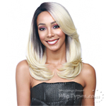 Bobbi Boss Synthetic Swiss C Part Lace Front Wig - MLF135 CLAUDIA