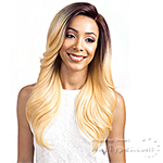 Bobbi Boss Synthetic Swiss Lace Front Wig - MLF167 LINDSEY  (5 inch deep part)