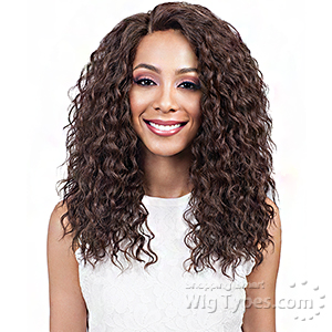 Bobbi Boss Synthetic 2 inch Deep Wide Swiss Lace Front Wig - MLF169 IRYNN