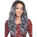 Bobbi Boss Synthetic Swiss Lace Front Wig - MLF174 ISSA (4x4 Skin Part)