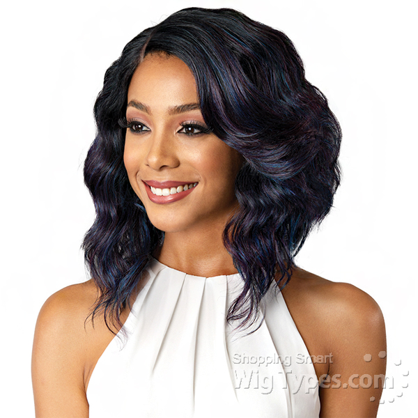 Bobbi Boss Synthetic Swiss J Part Lace Front Wig - MLF181 DENNA ... 228b95127
