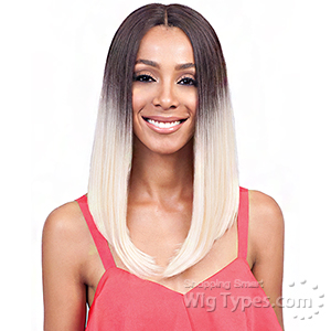 Bobbi Boss Synthetic Swiss Lace Front Wig - MLF185 LYNA LONG  (5 inch deep part)
