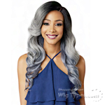 Bobbi Boss Synthetic Swiss Lace Front Wig - MLF192 NURU  (5 inch deep part)