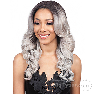 Bobbi Boss Synthetic Swiss Lace Front Wig - MLF213 RAYLA (5 inch deep part)