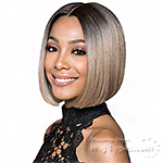 Bobbi Boss Synthetic Swiss Lace Front Wig - MLF217 LYNA SLEEK (5 inch deep part)
