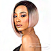 Bobbi Boss Synthetic Swiss Lace Front Wig - MLF219 NADINE SHORT (5 inch deep part)