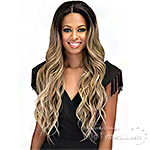 Bobbi Boss Synthetic 2 inch Deep Wide Swiss Lace Front Wig - MLF300 ERIS