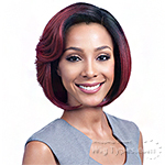 Bobbi Boss Synthetic Swiss Lace Front Wig - MLF302 ELLA (3.5 inch deep part)