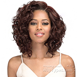 Bobbi Boss Synthetic Swiss Lace Front Wig - MLF316 LUANA (4 inch deep part)