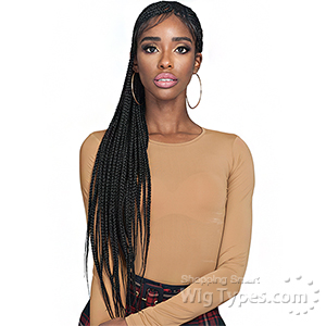 Bobbi Boss Synthetic Hair Braid Lace Front Wig - MLF511 SIMONE