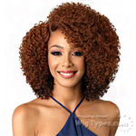 Bobbi Boss Synthetic Swiss Lace Front Wig - MLF159 NANA