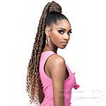 Bobbi Boss Synthetic Hair Drawstring Ponytail - SPUP43 SPRING TWIST