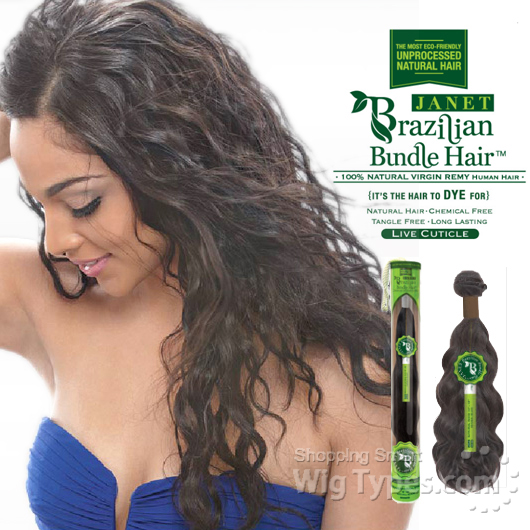Janet collection 100% unprocessed remy human hair weave ...